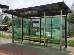 '시민 편의 증진' 위한 시내 버스승강장 새 단장