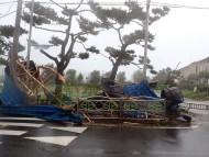 [포토]태풍 '링링' 이 휩쓸고 지나간 피해현장
