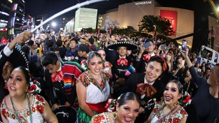 [포토]세계인의 춤 축제로 자리잡은 '천안 흥타령춤축제 2019'