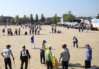 제62회 대한노인회 서산시지회 음암면분회장배, 게이트볼 대회 개최